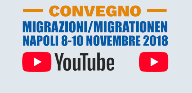 MIGRAZIONI/MIGRATIONEN SU YOUTUBE