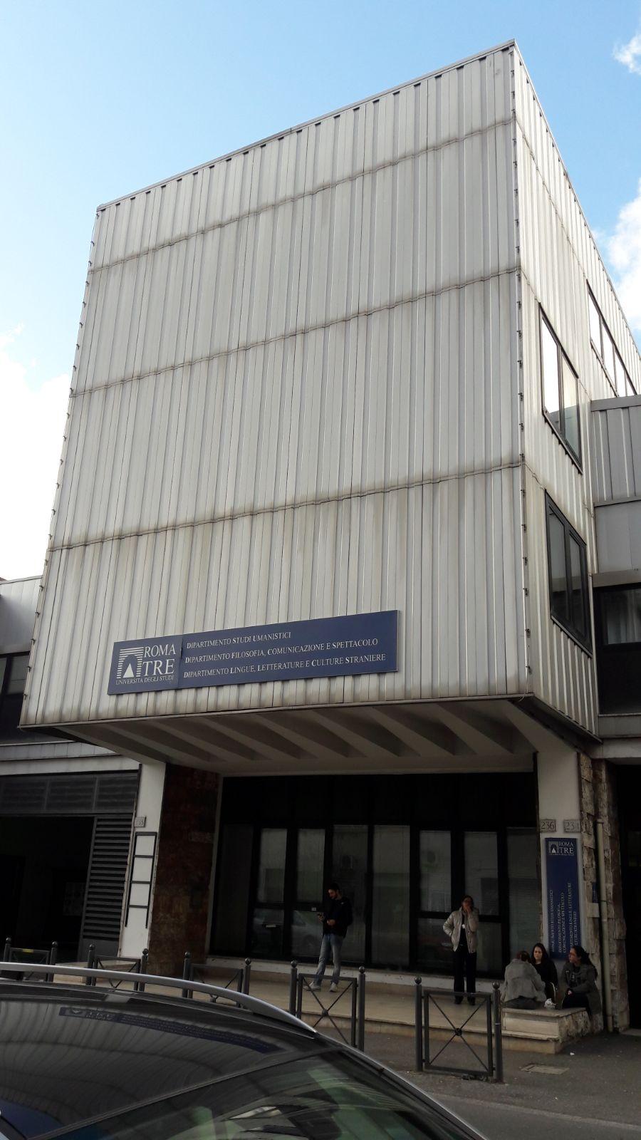 Università degli Studi Roma Tre - Dipartimento di Lingue, Letterature e Culture Straniere