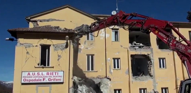 Ospedale Grifoni di Amatrice