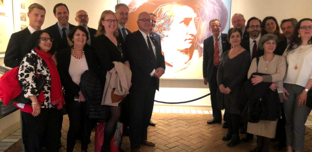 Treffen mit der deutsch-italienischen Parlamentariergruppe des Deutschen Bundestages