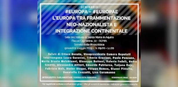 Europa frammentazione
