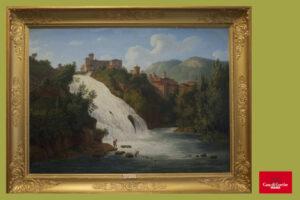 Jacob Philipp Hackert, Veduta della Cascata del Valcatoio in Isola di Sora